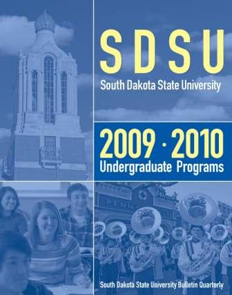 2009-2010 Undergraduate Catalog cover