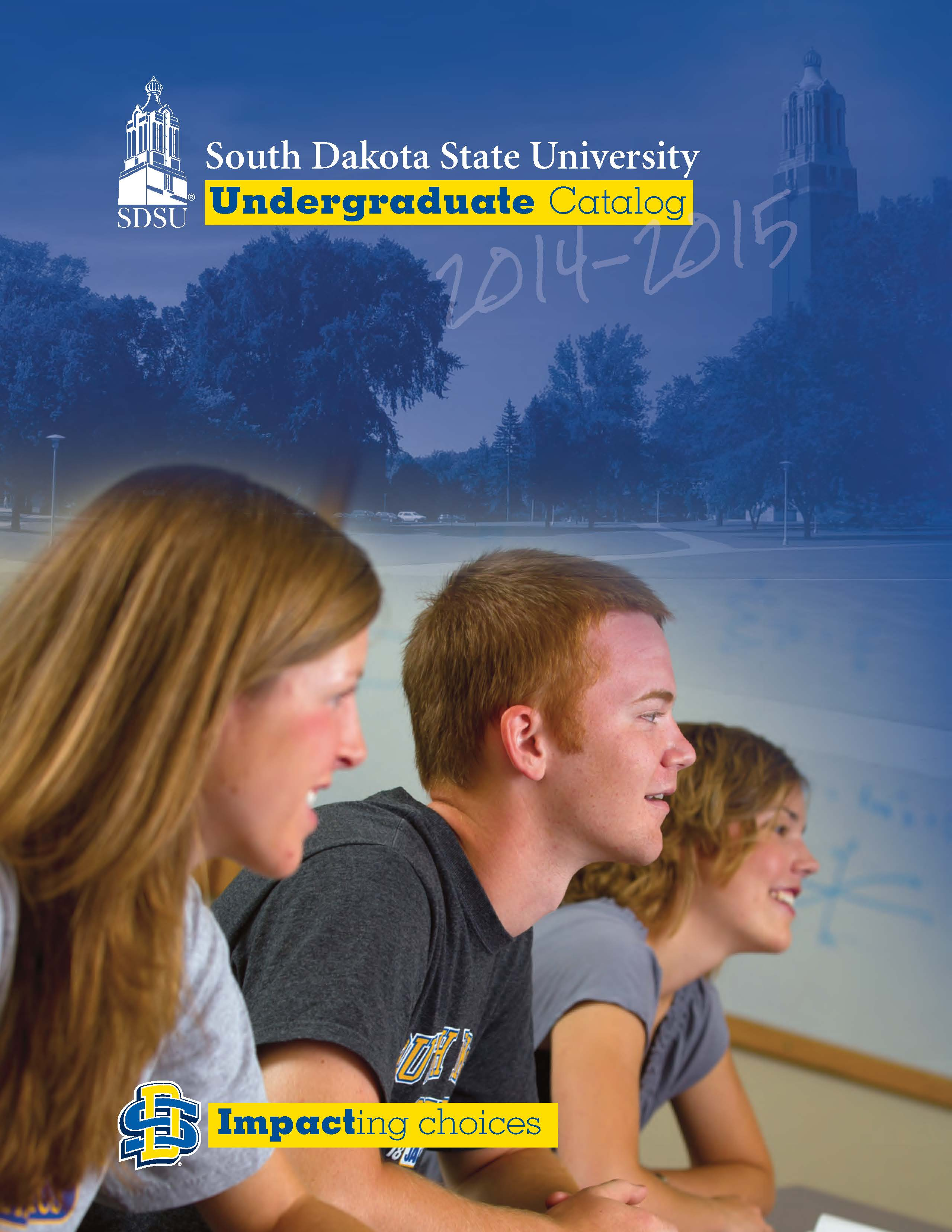 2014-2015 Undergraduate Catalog cover