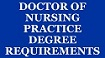 menu button - doctor of nursing practice (DNP) requirements