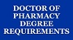 menu button - doctor of pharmacy (PharmD) requirements