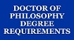 Menu button - doctor of philosophy (PhD) requirements